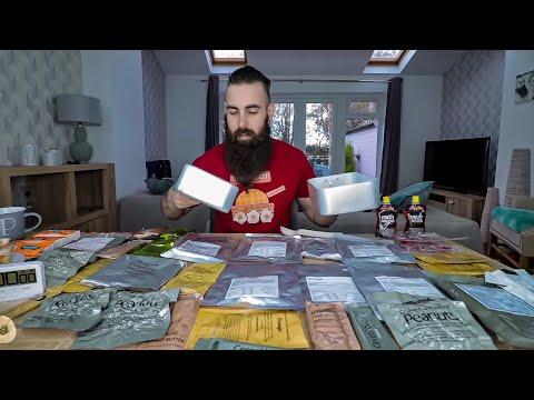The 10,000 Calorie Military Ration Challenge | BeardMeatsFood