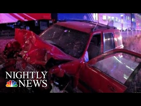 Amazing Video Shows Trooper Rescue Driver Seconds Before Train Collision | NBC Nightly News