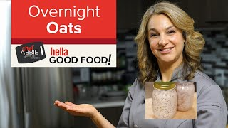 The Most Delicious and Hearty Overnight Oats Recipe