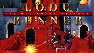 LGR - Lode Runner Online: Mad Monks