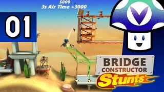 [Vinesauce] Vinny - Bridge Constructor Stunts (part 1)