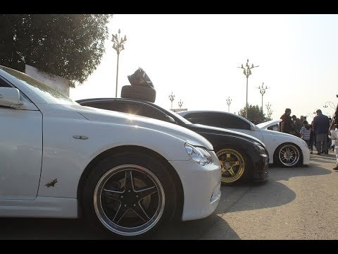 Team Lowcul || Toyota Mark X Modified || Pakwheels Gujranwala Auto Show