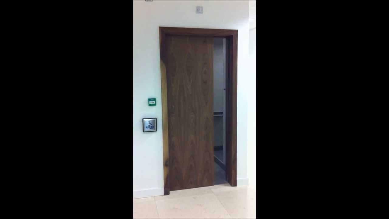 Dorma cs magneo disabled bathroom automatic sliding door