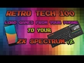 Load Games From Your Phone To Your ZX Spectrum+2
