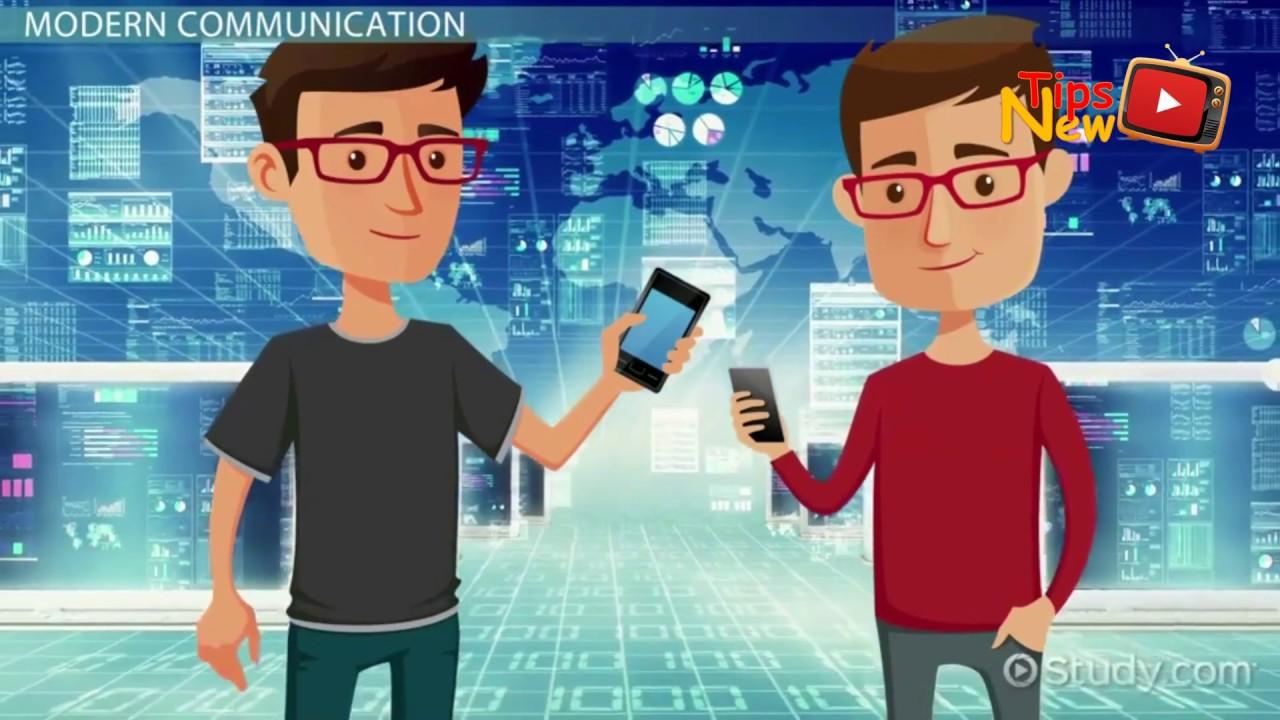 تطور وسائل الاتصال بين الماضي والحاضر Youtube