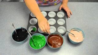 Camouflage Cupcakes How to Make Camo Cupcakes by Cookies Cupcakes and Cardio