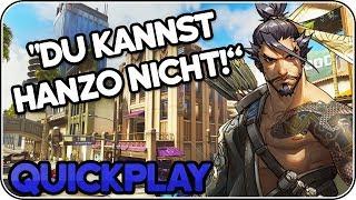 """""""Du kannst Hanzo nicht!"""" • Overwatch Quickplay deutsch"""
