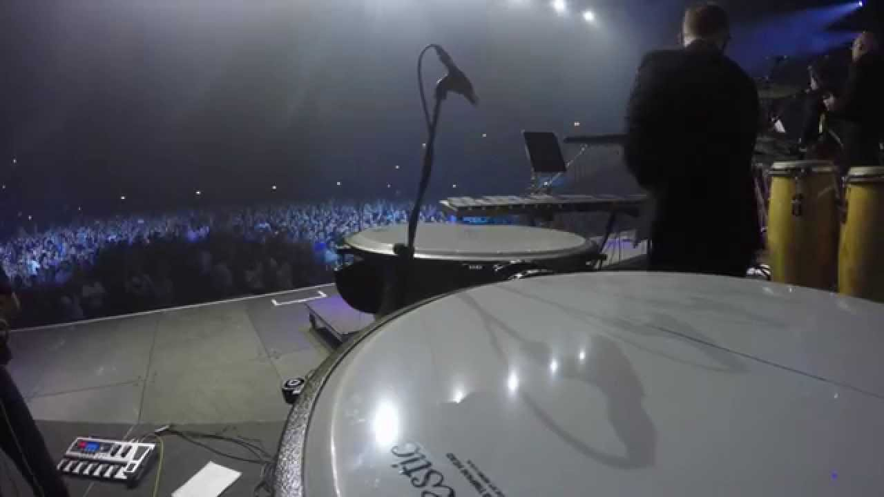 The Drifters - Wembley Arena Percussion Cam