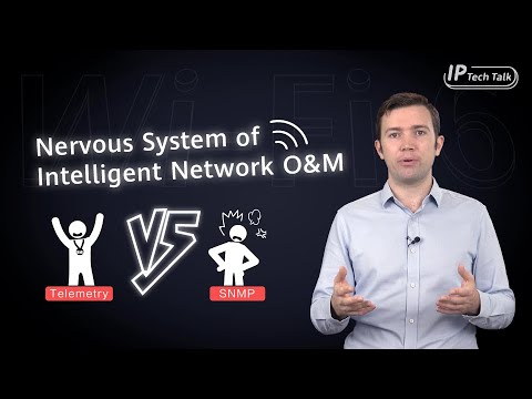 Download HUAWEI IP Tech Talk — Telemetry vs. SNMP | What Is Telemetry and How Does It Work