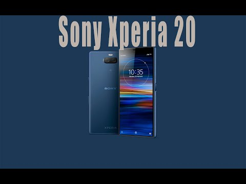 Sony Xperia 20 - Snapdragon 710,Full HD+ 21:9