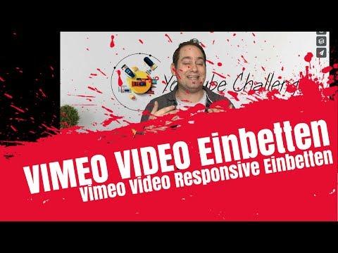 Vimeo Video Responsive Einbetten