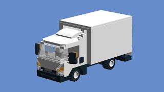 Как сделать грузовик из лего