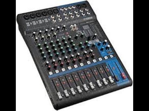 how to setup a home studio mixer the basics