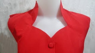 how to sewing a simple blouse model (31)
