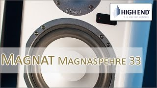 High End 2016: Magnat Magnasphere 33 und Magnasphere 55