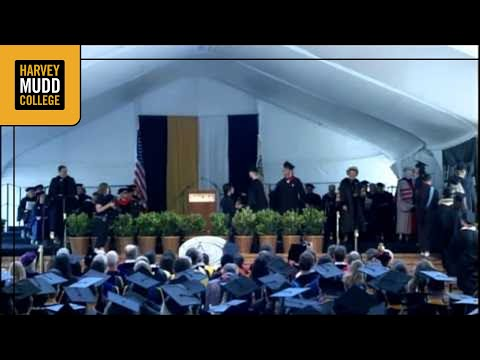 Harvey Mudd College 2012 Commencement Ceremony