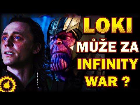 TEORIE 3v1: LOKI MŮŽE ZA INFINITY WAR, DEADPOOL potká Doctora Strange, THANOSŮV vděčný vesmír...
