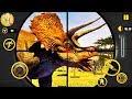 Dinosaur Hunt Simulator 2018 #1 - New 3D Dinosaur Hunting Game With Sniper Guns [Mobile Games]