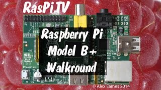 Raspberry Pi Model B+ launched today. Full walkaround.