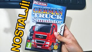 Nostalji! German Truck Simulator - Kutu Açılışı/Oynanış