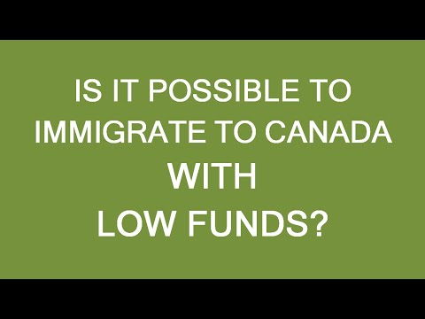 Immigrate To Canada With No Money? Is It Possible?