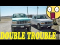 DOUBLE TROUBLE - FORD F150 4x4's