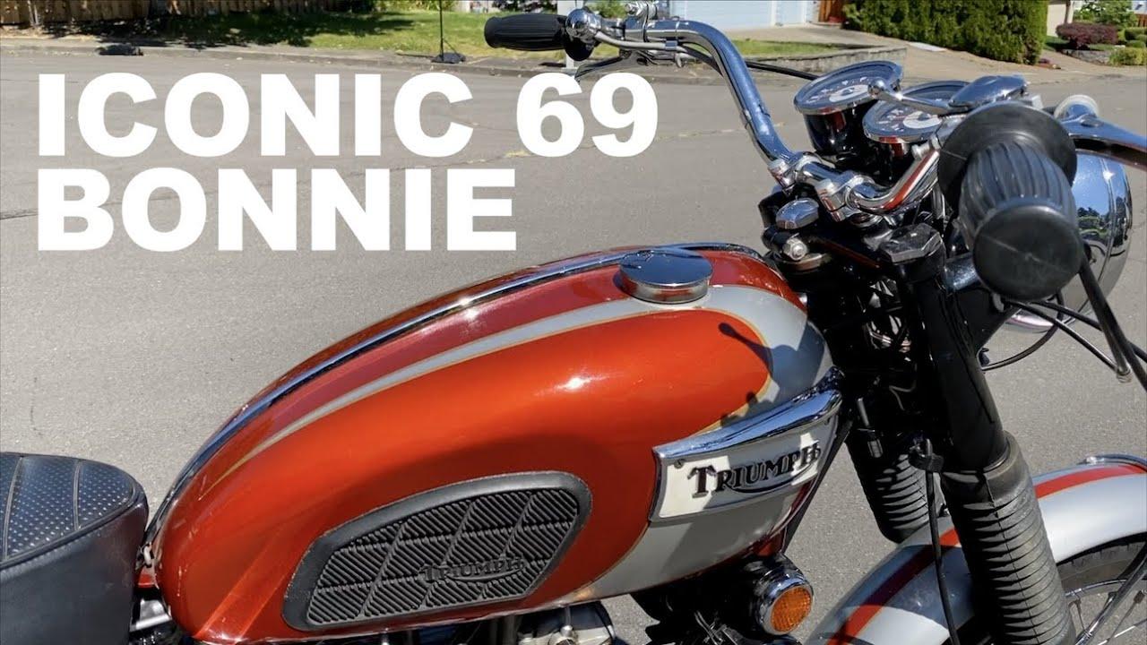 1969 Triumph T120 Bonneville