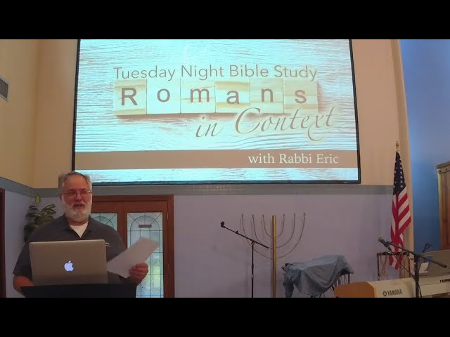Tuesday Night Bible Study | Romans in Context: Week 2 10/27/20