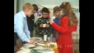 новый 1996 год. 4 школа, ульяновск