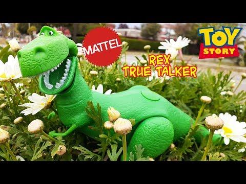(ESPAÑOL) TOY STORY 4: True Talker Rex El Dinosaurio Reseña Review
