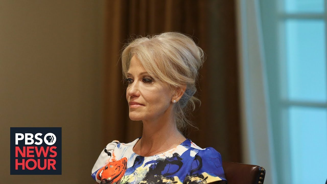 Trump says he will not fire Kellyanne Conway for Hatch Act violations