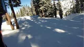 Kirkwood 01-12-2013 - Into The Gully/ravine