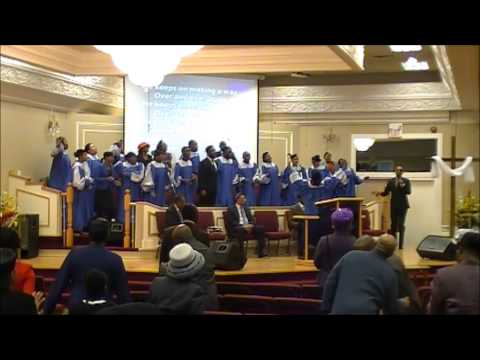 MZAC Youth Choir - He Keeps on Blessing Me