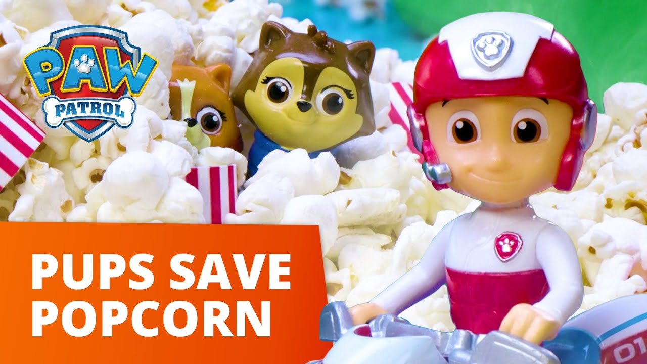 Download PAW Patrol Moto Pups - Pups Fix The Popcorn Machine - Toy Episode - PAW Patrol Official & Friends
