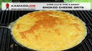 Kamado Joe - Smoked Cheese Grits