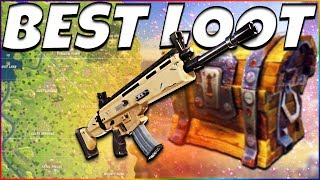 Top 5 Best LOOT Spots! (Fortnite Battle Royale) | Secret Legendary Loot Spawns | Tips & Tricks