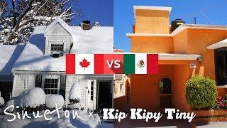Casas Canadienses VS Mexicanas - Interesante Comparación con Kip Kipy Tiny - Sinueton