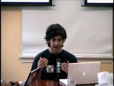 Aaron Swartz on The Open Library