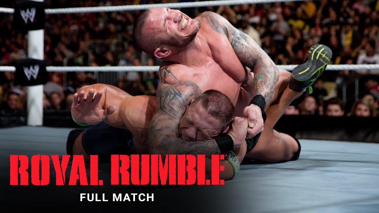 Download FULL MATCH - Randy Orton vs. John Cena – WWE World Heavyweight Title Match: Royal Rumble 2014