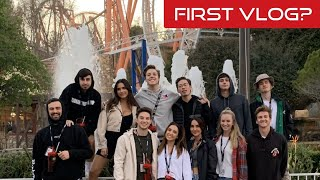 Best Friends Take On Six Flags! W/ Crawford Collins Christian Seavey, Matthew Espinosa, And More!