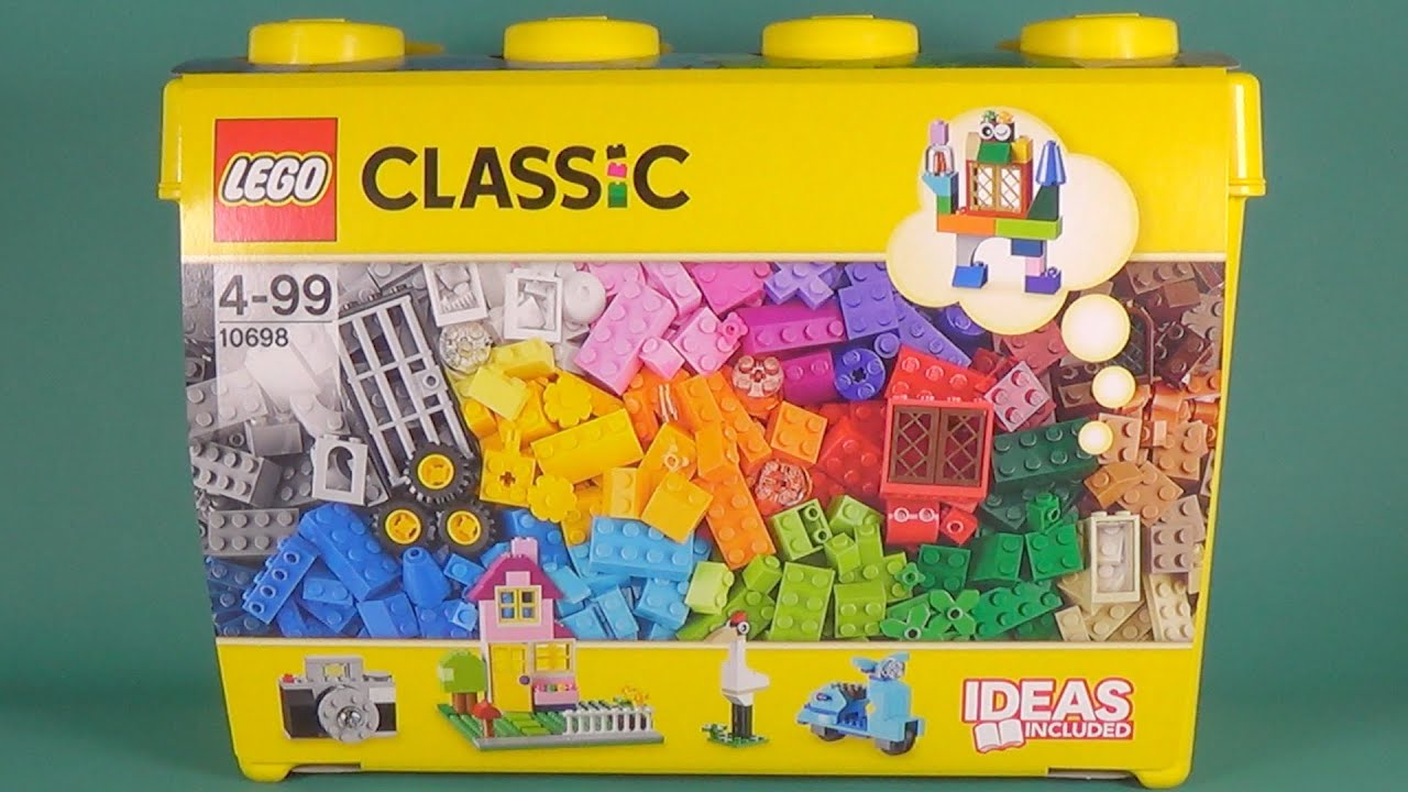 Lego Classic 10698 Creative Brick Box Unboxing Youtube
