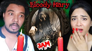 I did *BLOODY MARY* Challenge at Haunted Place at 3A.M | Gone Wr0ng😫 | Nil & Situ Vlogs
