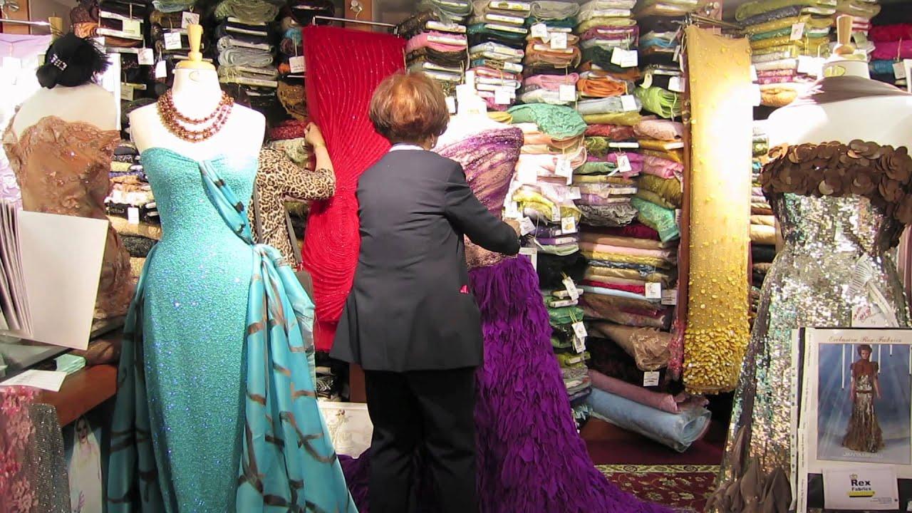 Confecciones y dise os de vestidos para toda ocasi n youtube for Telas para visillos de salon