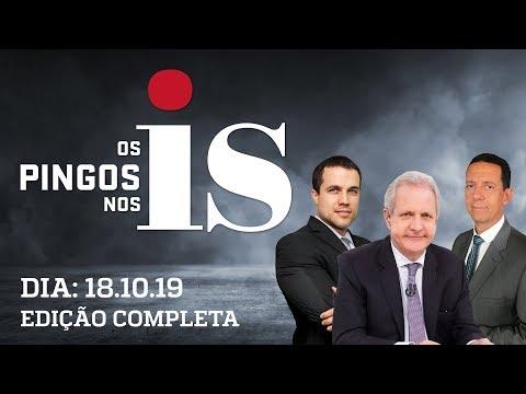 Os Pingos Nos Is - 18/10/2019 - Suspensões no PSL / Acusações contra Bolsonaro / PT prepara festa