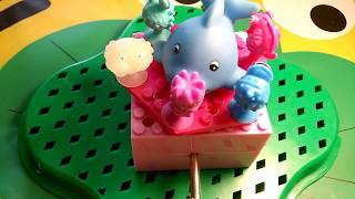 ocean animals BLUE whale end Toys for children