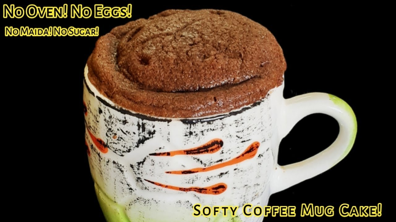 Chocolate Coffee Mug Cake Recipe In Tamil | No Oven! No ...