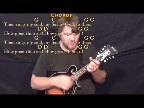 Mandolin mandolin tabs hymns : How Great Thou Art (HYMN) Mandolin Cover Lesson in G with Chords ...