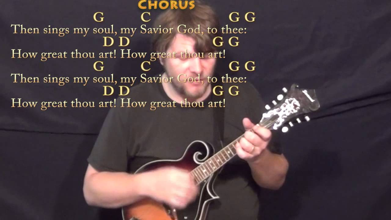 How Great Thou Art Chords Elvis