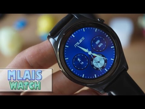 MLAIS WATCH, el smartwatch con FitWear [Android Wear chino]