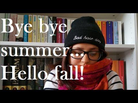 Bye bye summer, hello fall TAG